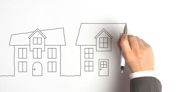 物件により異なる資産価値の推移