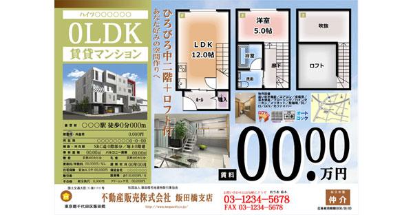 【沖縄の家を購入】大判カラー不動産広告のチェック項目